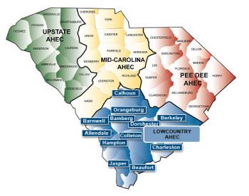 HCP Coordinator  Regional Map
